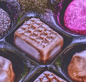 Werbegeschenk Schokolade